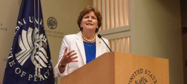Sen. Jeanne Shaheen discusses the main finding Syria Study Group's final report, 09/26/19.