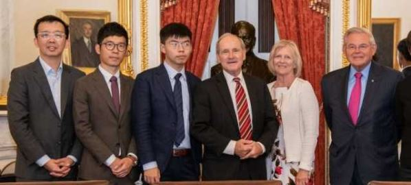 Jim Risch meeting on the Hong Kong Human Rights and Democracy Act, 9/25/19.