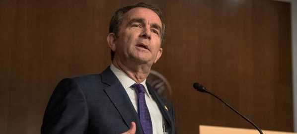 Virginia Governor Ralph Northam speaking at US Senate Democratic Rural Summit, 09/27/19.