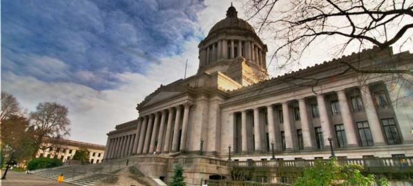 Washington State Capitol in Olympia, Washington.