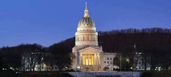 West Virginia State Capitol in Charleston.
